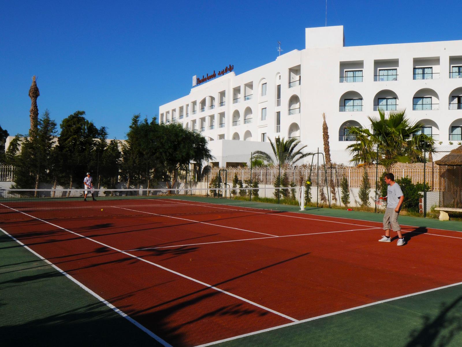 Pista Tenis - Hamammet Nozha Beach Hotel