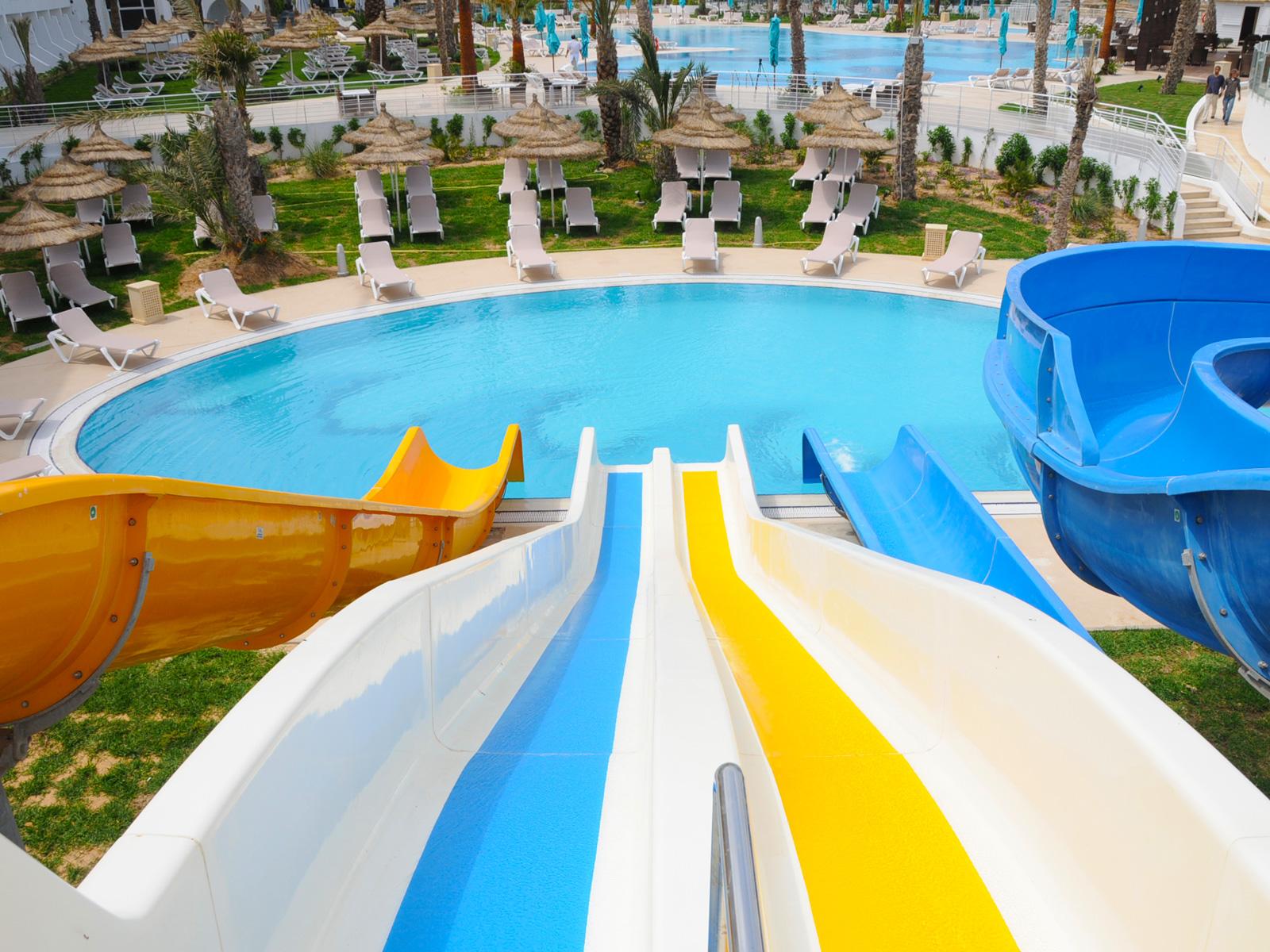 Glissade D'Eau - Hamammet Nozha Beach Hotel