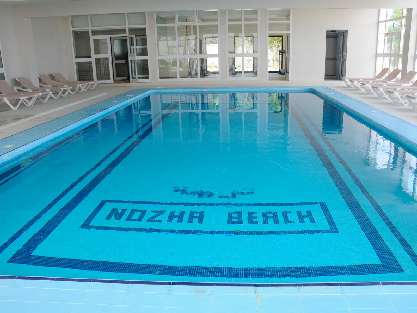 Piscina Cubierta - Hamammet Nozha Beach Hotel