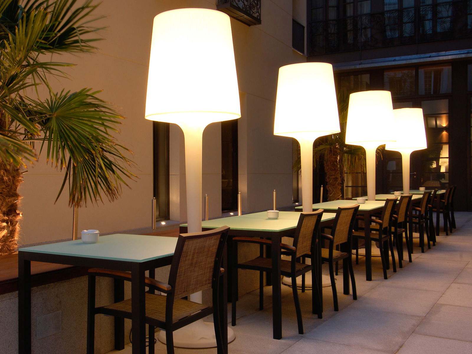 Indoor Patio - Vincci Soho 4*
