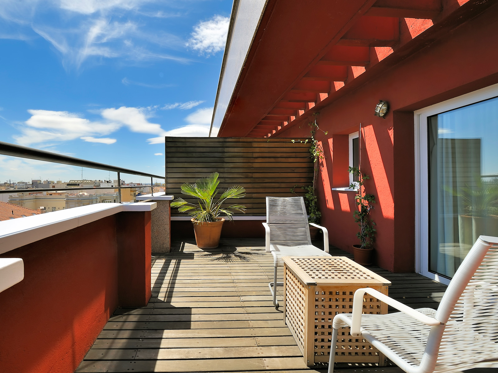 Terrasse supérieure de la chambre - Vincci Soma 4*